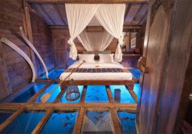 Bambu Indah een uniek hotel op Bali