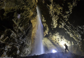 Gaping Gill 2x per jaar open in Yorkshire