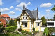 Gelbe Villa