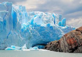 Het geluid van de Perito Moreno Gletsjer in Argentinië
