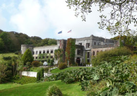 Abbeyglen Castle in Ierland