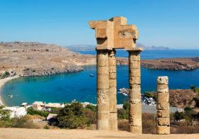 Rhodos van Acropolis tot vlindervallei