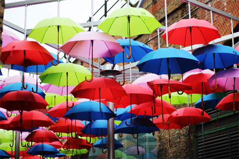Águeda umbrella festival