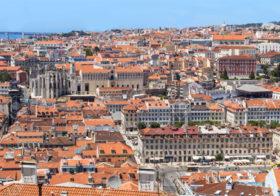 Baixa een culturele stadswijk in Lissabon