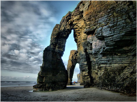 beach of cathedrals