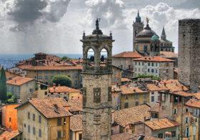 Bergamo met historisch centrum Citta Altà