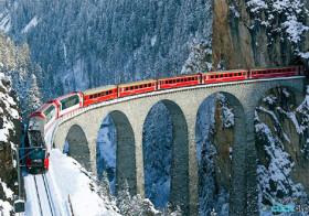 Treinreis in Graubünden