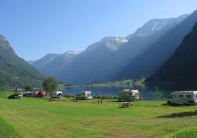 Met de camper door Noorwegen.