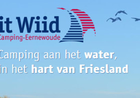 camping it wiid in Friesland