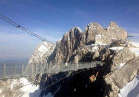 Gletsjer Dachstein in Oostenrijk