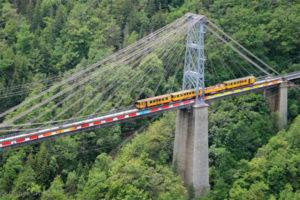 de gele trein in vauban