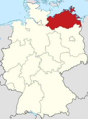 deelstaat Mecklenburg-Vorpommern