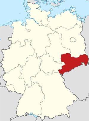 deelstaat Saksen
