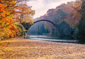 Kromlauer park in Gablenz Duitsland
