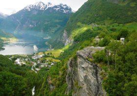 Geirangerfjord behoort tot het Werelderfgoed van UNESCO.