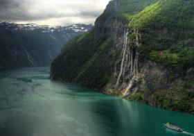 Geirangerfjord je voelt je zo klein