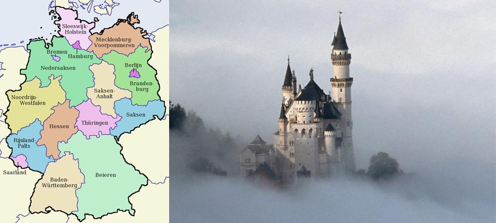 Vakanties in Duitsland