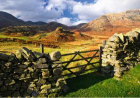 Het Lake District met ongelofelijke schilderachtige schoonheid