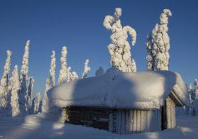 Rovaniemi de thuisbasis van de kerstman.
