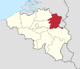 map limburg belgie