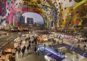 Rotterdam een stad met veel architectuur en fun.