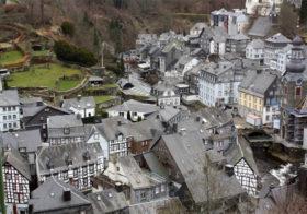 Monschau de parel van de Eifel