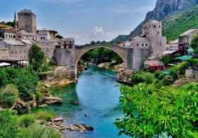 Via Mostar naar Sarajevo
