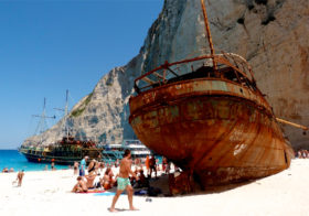 Navagio Beach het bekendste strand van Zakynthos