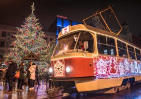 Kerstsfeer in Brno
