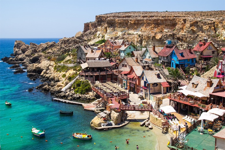 popey village malta