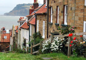 Robin Hood's Bay een klein vissersdorpje in het district North Yorkshire