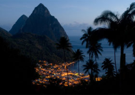 St. Lucia een eilandnatie in het Caribisch gebied