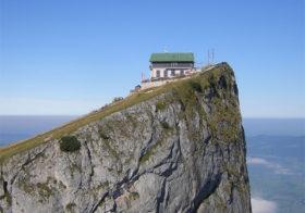 Schafberg met unieke bergtop