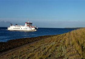 Schiermonnikoog, het kleinst bewoonde waddeneiland.
