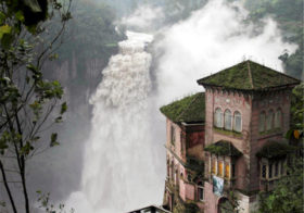 Tequendama waterval in Colombia
