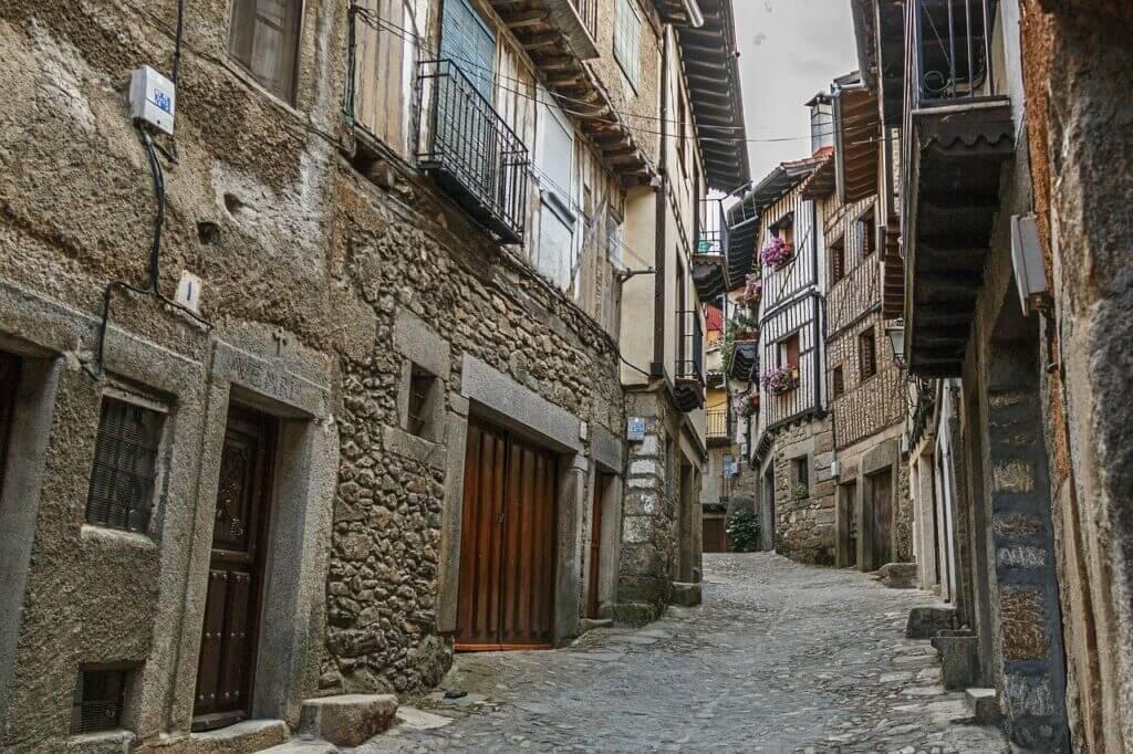 straatje in Salamanca