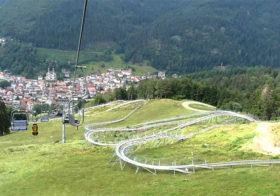 Hasenhorn langste rodelbaan van Europa in Todtnau Zuid-Duitsland