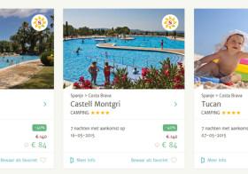 VacanceSelect met campings en vakantieparken in Spanje