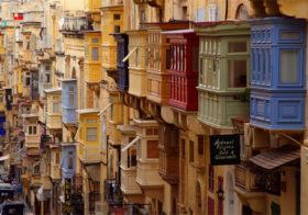 Valletta op Malta wie wil daar niet naar toe.