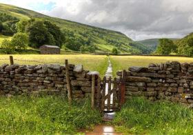 Yorkshire Dales ruig en ongerept heuvellandschap