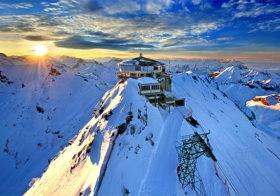 Schilthorn overziet vele bergen